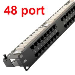JF-48port-CAT-5 PATCH PANEL 48port CAT-5