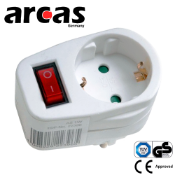20.05.0005_ARC-1S_ARCAS_ADAPTOR_SOUKO_SOCKET_WITH_SWITCH_PALS